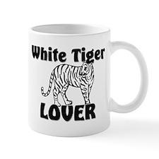 White Tiger Lover Mug