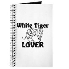 White Tiger Lover Journal
