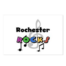 Rochester Rocks Postcards (Package of 8)