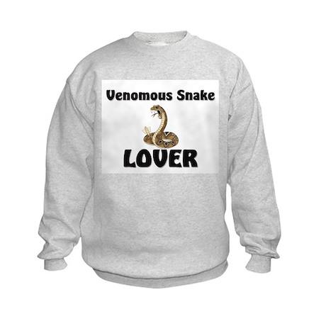 Venomous Snake Lover Kids Sweatshirt
