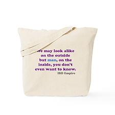 Unique Crohns Tote Bag