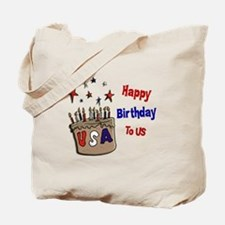 Happy Birthday To Us 1 Tote Bag