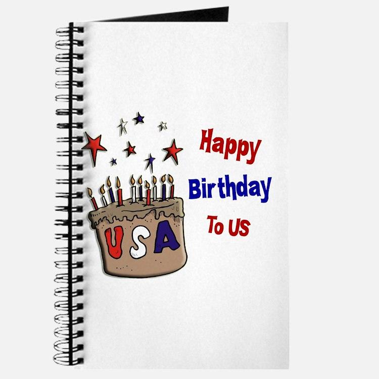 Happy Birthday To Us 1 Journal