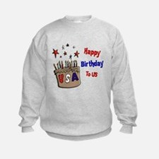Happy Birthday To Us 1 Sweatshirt