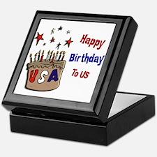 Happy Birthday To Us 1 Keepsake Box