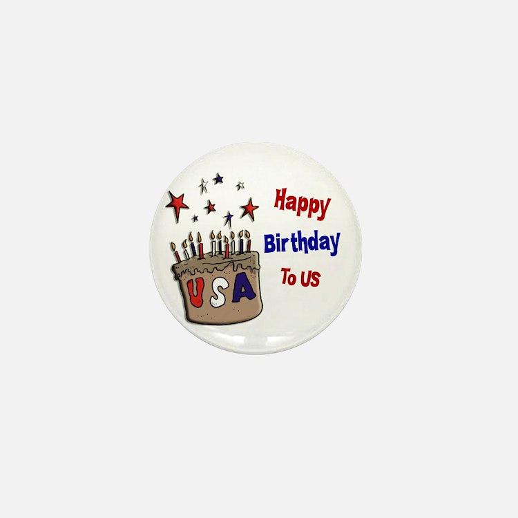 Happy Birthday To Us 1 Mini Button