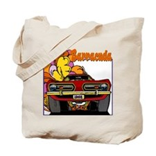 1968 Barracuda Tote Bag