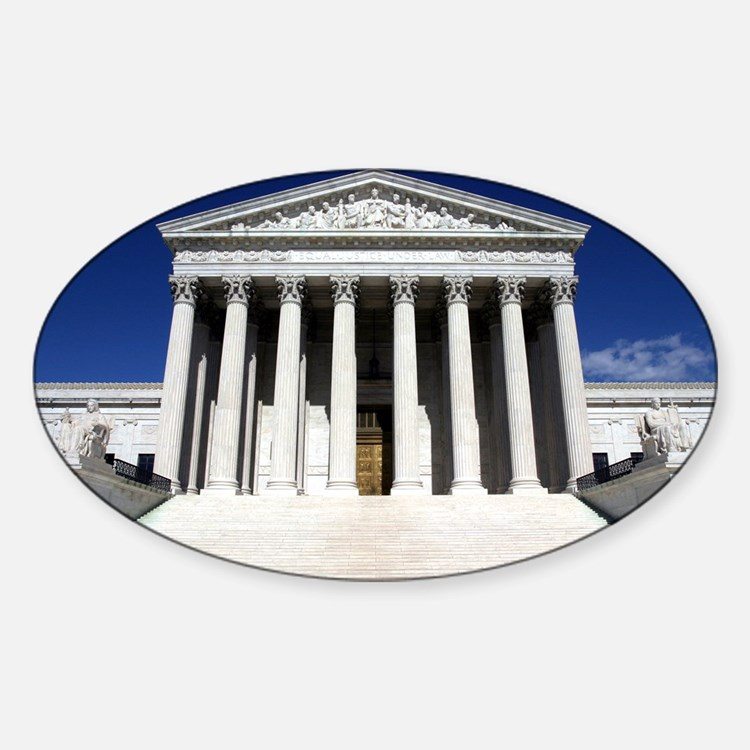 Supreme Court Oval Decal