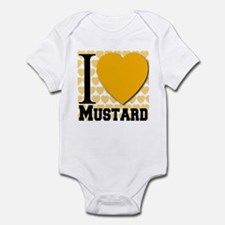I Love Mustard Infant Bodysuit