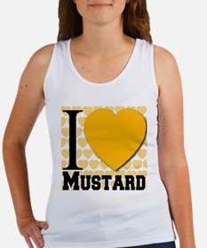 I Love Mustard Women's Tank Top