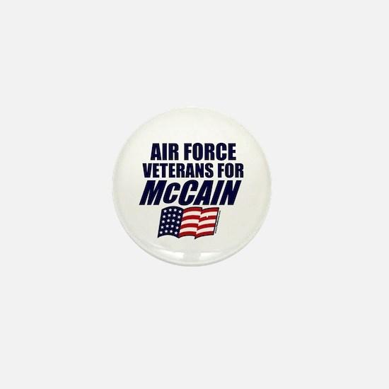Airmen for McCain Mini Button