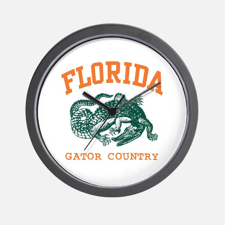 Florida Gator Country Wall Clock