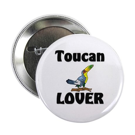 "Toucan Lover 2.25"" Button"