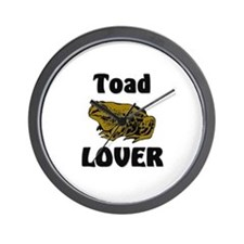 Toad Lover Wall Clock
