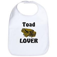 Toad Lover Bib