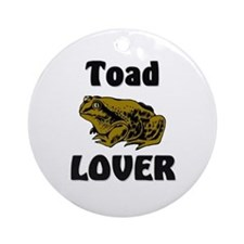 Toad Lover Ornament (Round)