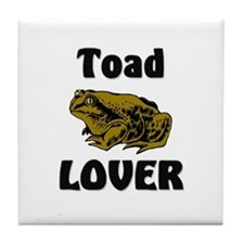Toad Lover Tile Coaster
