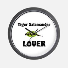 Tiger Salamander Lover Wall Clock