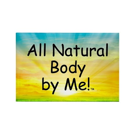 TOP All Natural Body Rectangle Magnet