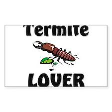 Termite Lover Rectangle Sticker
