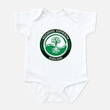 Going Green Oakland Tree Infant Bodysuit