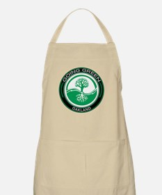 Going Green Oakland Tree BBQ Apron