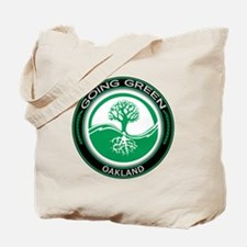 Going Green Oakland Tree Tote Bag
