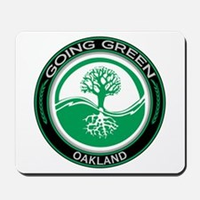 Going Green Oakland Tree Mousepad