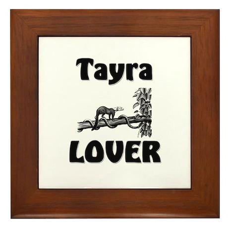 Tayra Lover Framed Tile