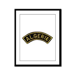 Legion in Algeria Framed Panel Print