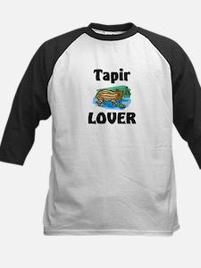 Tapir Lover Kids Baseball Jersey