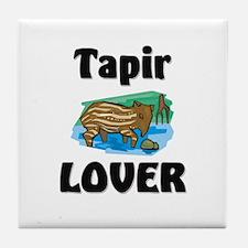 Tapir Lover Tile Coaster