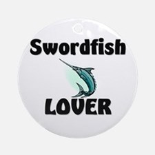 Swordfish Lover Ornament (Round)