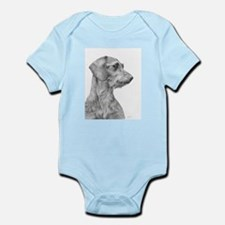 Wirehaired Dachshund 1 Infant Creeper