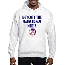Boycott Mainstream Media Hoodie