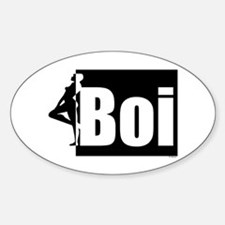 Boi 2b Oval Decal