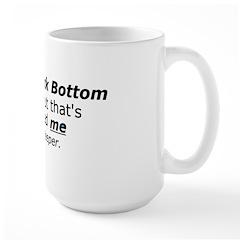 Hitting Rock Bottom on Mug