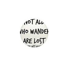 Not All Who Wander Mini Button (10 pack)