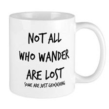 Not All Who Wander Small Mug