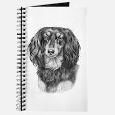 Longhaired Dachshund #1 - Bla Journal