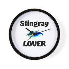 Stingray Lover Wall Clock