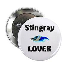 "Stingray Lover 2.25"" Button"