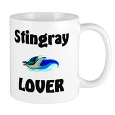 Stingray Lover Small Mug