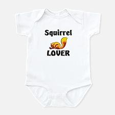 Squirrel Lover Infant Bodysuit