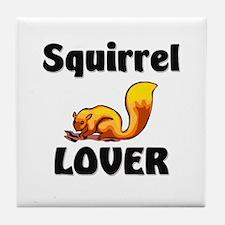 Squirrel Lover Tile Coaster