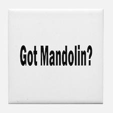 Got Mandolin? Tile Coaster