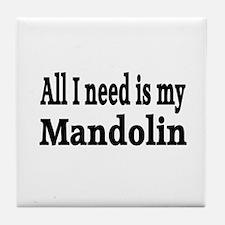 Mandolin Tile Coaster