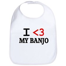 Cute Banjo player Bib