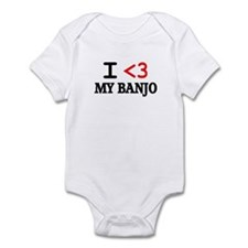 Cute Banjo player Infant Bodysuit