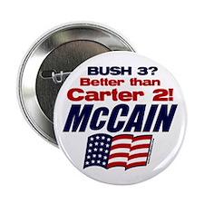 "Bush 3 vs Carter 2 2.25"" Button (10 pack)"